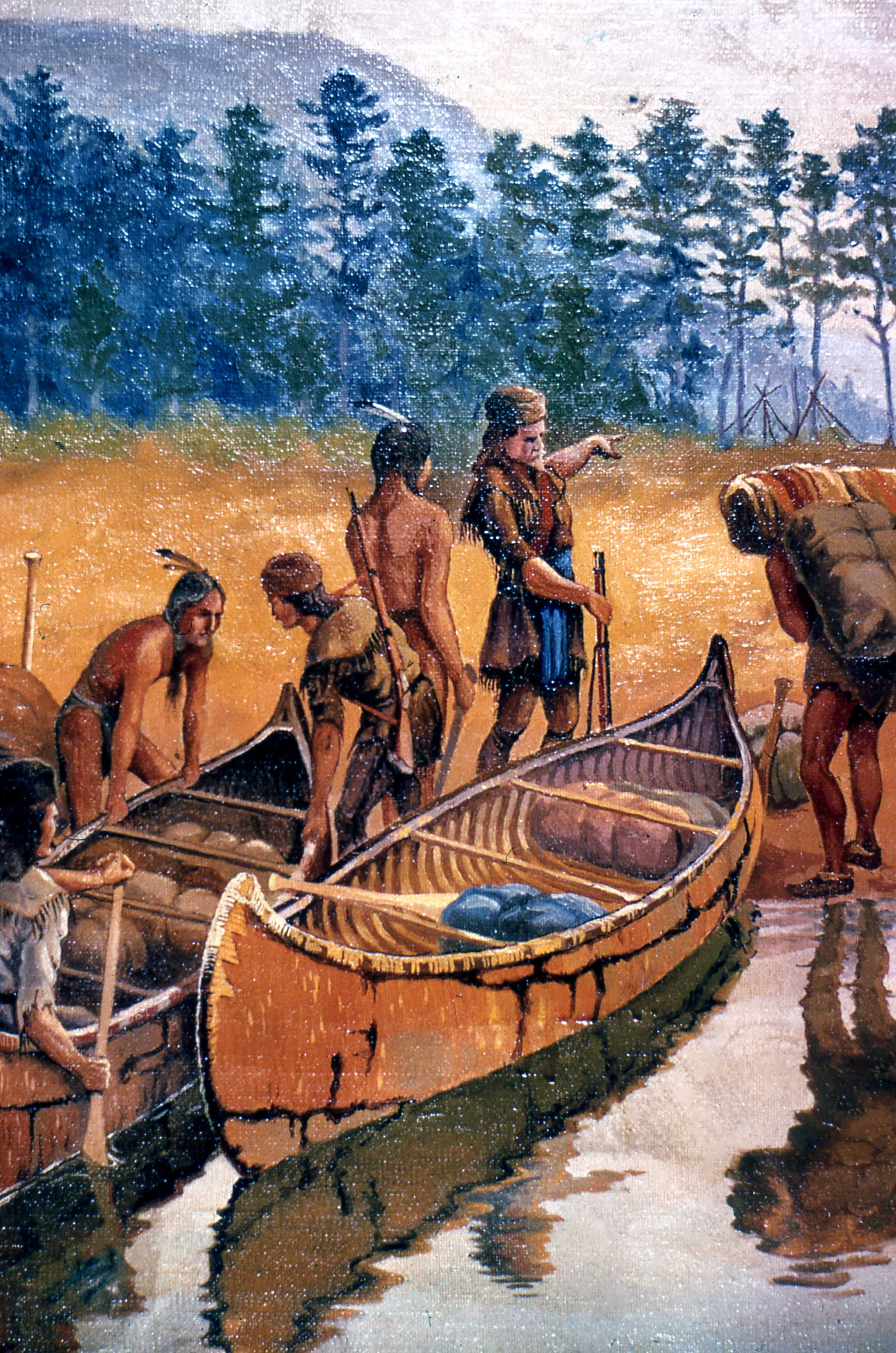 What Is Trade >> PHOTOS OF FUR TRADE CANOES