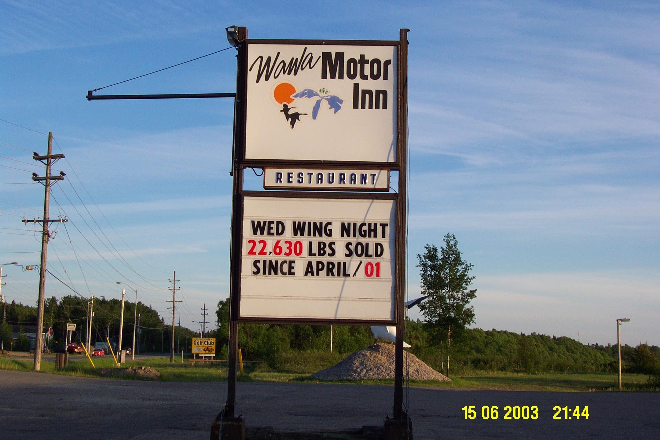 Wawa motor inn for Motor inn near me